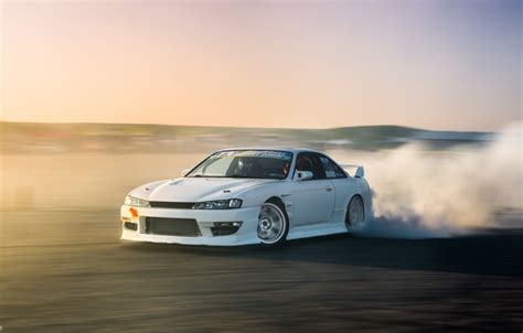 oboi nissan turbo white drift japan smoke jdm