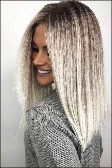inspiring long bob hairstyle ideas frisur haar und