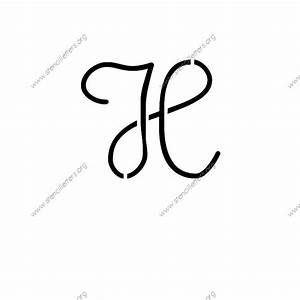 cute girly cursive uppercase lowercase letter stencils a With 12 inch letter stencils cursive