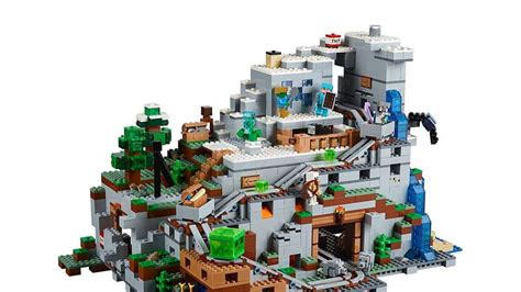 save    huge lego minecraft set  give