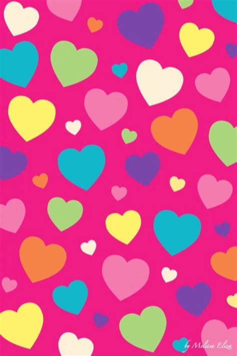 iphone wallpaper valentines day hearts tjn iphone