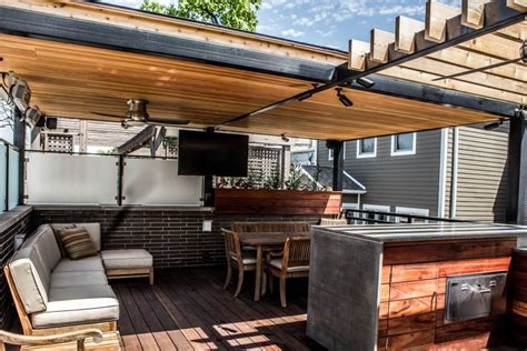 kitchen by design roof deck chicago roof deck outdoor room pergola outdoor 2339