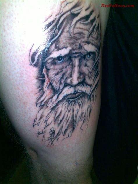 wizard  crystal ball tattoos
