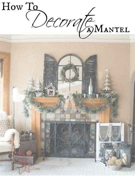 how to decorate mantels how to decorate a christmas mantel designed decor