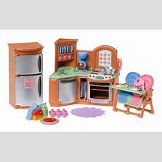 Fisher Price Loving Family Kitchen  Miniatures Dollhouse