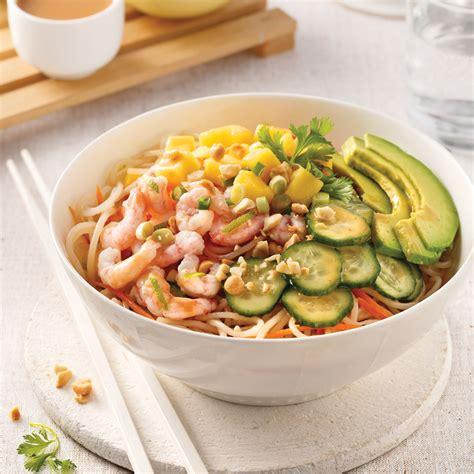 cuisine riz rouleaux de printemps en bol recettes cuisine et