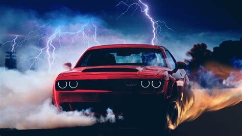 2018 Dodge Demon Wallpaper