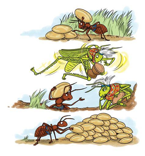 grasshopper fable