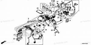 Honda Atv 2018 Oem Parts Diagram For Wire Harness