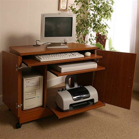 laptop desk with printer shelf small computer desk with printer shelf custom home