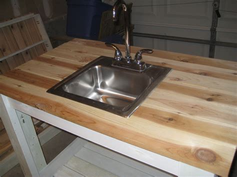 diy outdoor sink station ana white my simple outdoor sink diy projects
