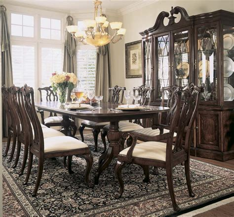 antique dining room sets for marvelous antique dining sets 5 american drew cherry 9022