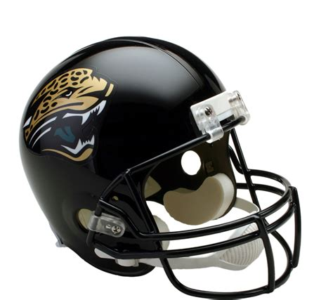 Jacksonville Jaguars Vsr4 Replica Throwback (9512) Helmet