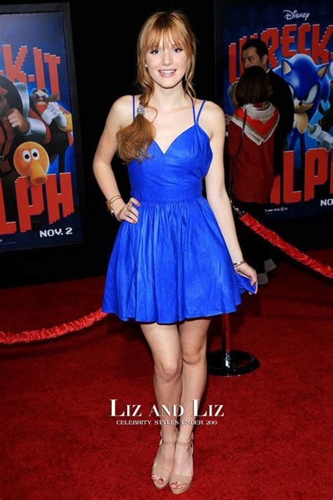 bella thorne blue cocktail party homecoming graduation
