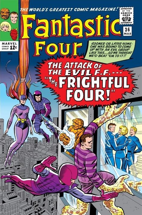 Fantastic Four Vol 1 36  Marvel Comics Database