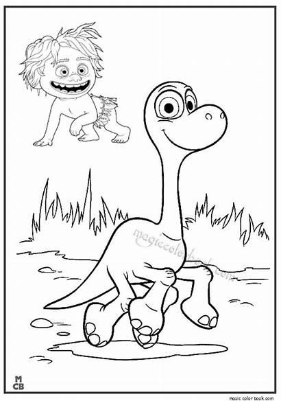 Dinosaur Coloring Pages Printable Disney Arlo Dinosaurs