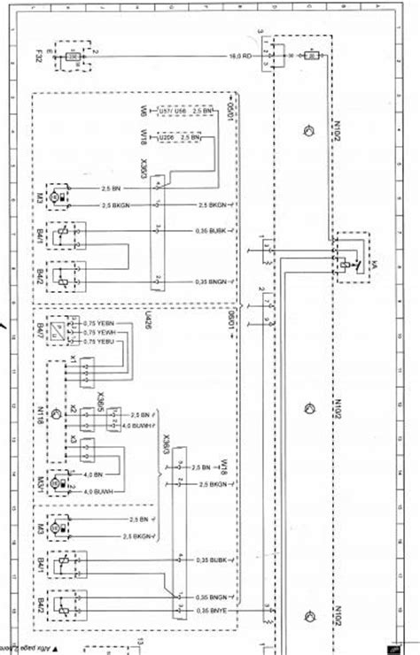 mercedes r129 fuse box diagram of the wiring diagram and fuse box