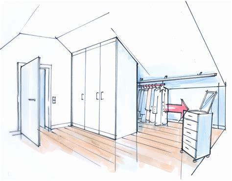 Einfach Schraeg Moebel Fuers Dachgeschoss by Schiebestangen Dachgeschoss Ausbauen Kleiderschrank