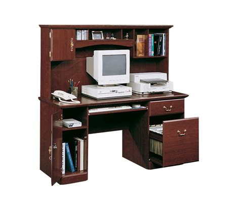 computer desk with hutch walmart workstation desk with hutch sauder original cottage