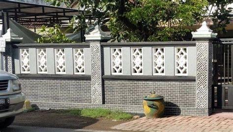 model pagar minimalis modern  rumah minimalis
