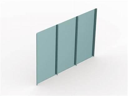 Seam Standing Wall Panels Metal Cladding Sheet