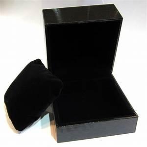 Ecrin Pour Montre : boites et coffrets a bijoux ecrin bracelet montre epi noir ~ Teatrodelosmanantiales.com Idées de Décoration