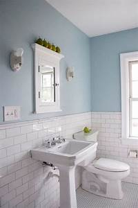 bathroom wall tile Popular Materials of White Tile Bathroom - MidCityEast