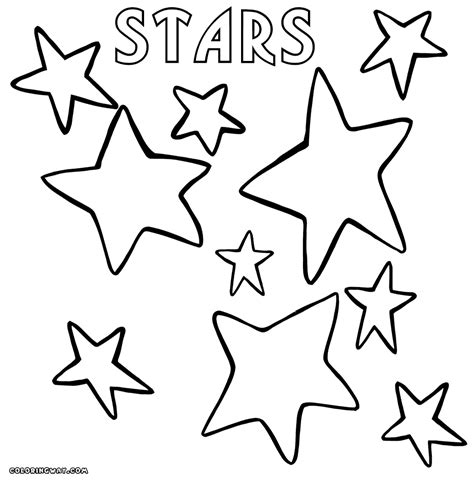 Star coloring pages | Coloring pages to download and print