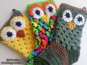 Owl Christmas Stocking Crochet Pattern