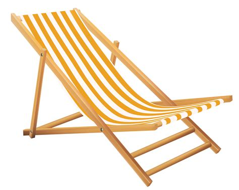 chaise transparent yellow lounge chair transparent png stickpng