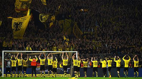 stadium bans handed    borussia dortmund fans espn fc