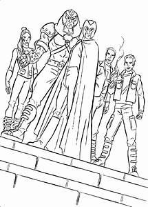 Dibujos Para Colorear Los Mutantes De Magneto Es