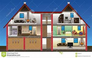Vector House Stock Image - Image: 9230571