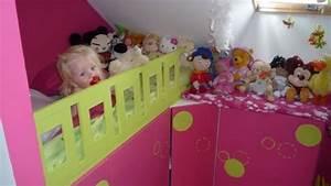 Lit D Enfant Avec Barrière : un lit enfant avec du rangement base de meubles de cuisine ~ Premium-room.com Idées de Décoration