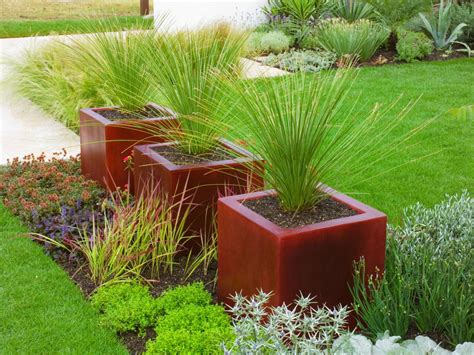 landscaping ideas using large pots landscaping guide