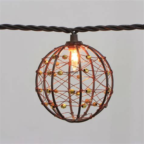 copper string lights string lights decorative beaded copper wire