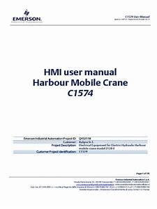 C1574  Q432118  User Manual Emerson Imhc1210 Italgruu