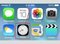 New iOS 7 Clock App Icon Now Displays The Real Time Cult