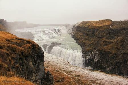 Gullfoss Waterfall Backgrounds by Gullfoss Waterfall Iceland Waterfalls Nature
