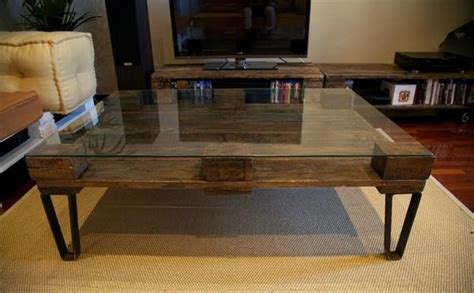diy coffee table glass top industrial pallet coffee table ideas pallets designs Diy Coffee Table Glass Top