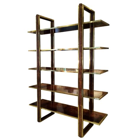 Etagere Shelves by Five Shelf Etagere At 1stdibs