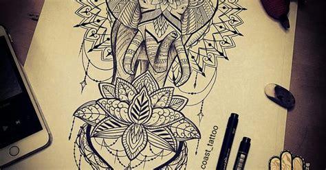 Mandala Elephant Tattoo Design Idea By Dzeraldas Jerry Kudrevicius Atlantic Coast Tattoo In