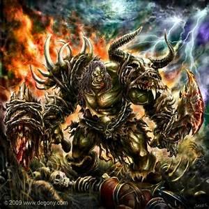 Orc Hunter Wow Art