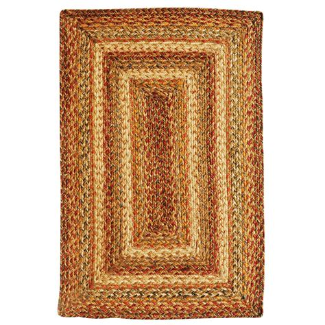 durable kitchen table harvest jute braided rugs
