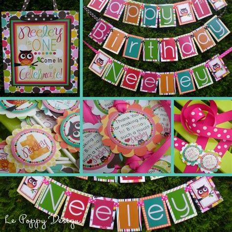owl party decorations ideas  pinterest owl