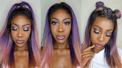 Lace Frontal Sew In Tutorial (no Leave Out)