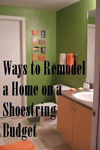 How, To, Remodel, A, Home, On, A, Shoestring, Budget