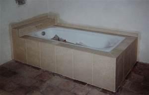 Habillage De Baignoire : am nagement int rieur en pierre ou granit pierre ~ Premium-room.com Idées de Décoration