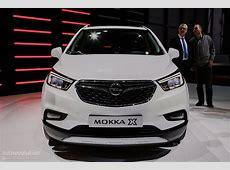 2016 Opel Mokka X Priced in Germany from €18,990