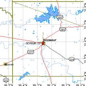 Seymour Texas Map